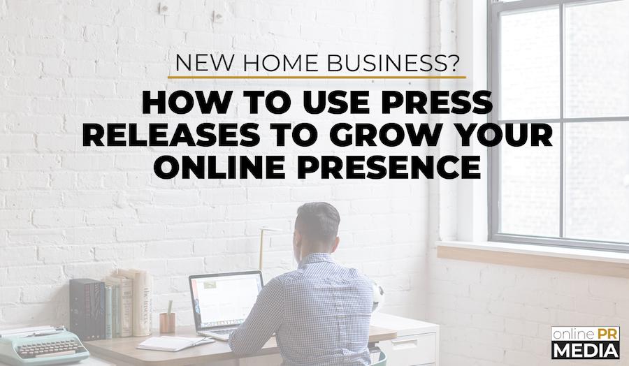 New Home Business Online PR Media